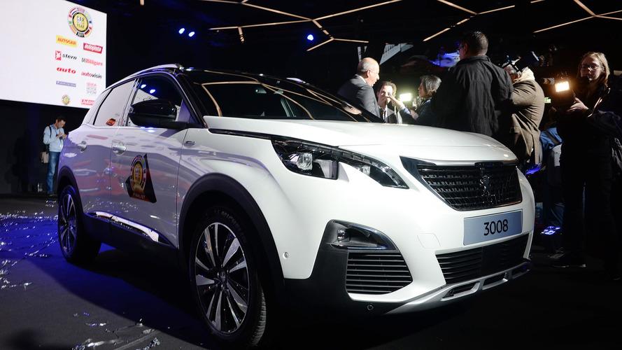 Peugeot 3008 é eleito Carro do Ano 2017 na Europa