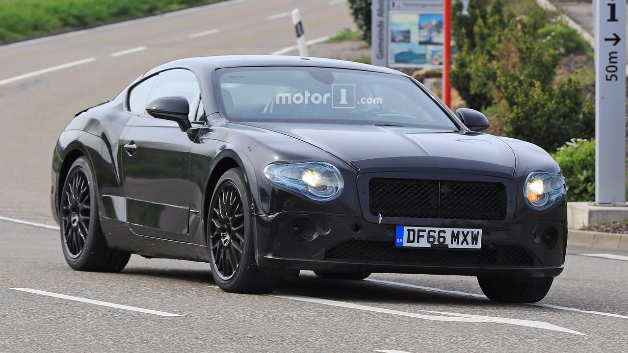 2018 Bentley Continental GT spy photo