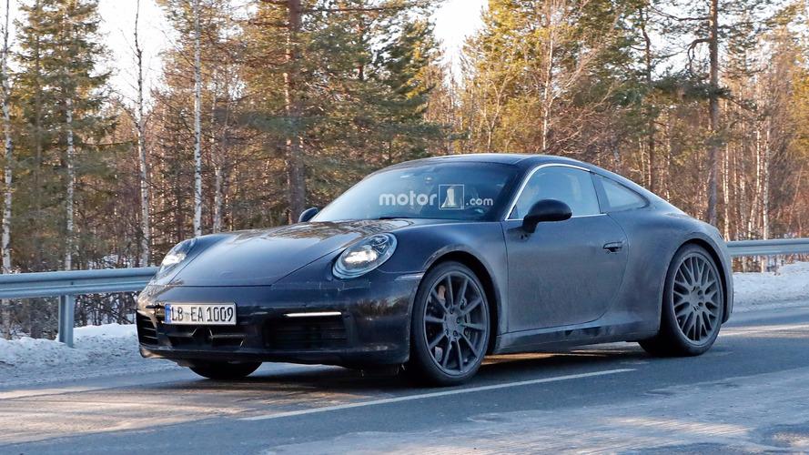 Porsche 911 yine test yaparken yakalandı