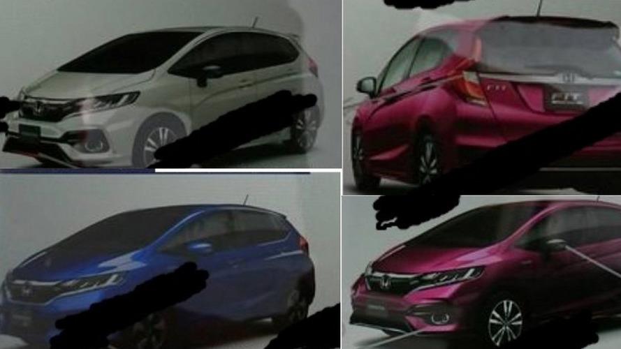 2018 Honda Fit / Jazz facelift brochure