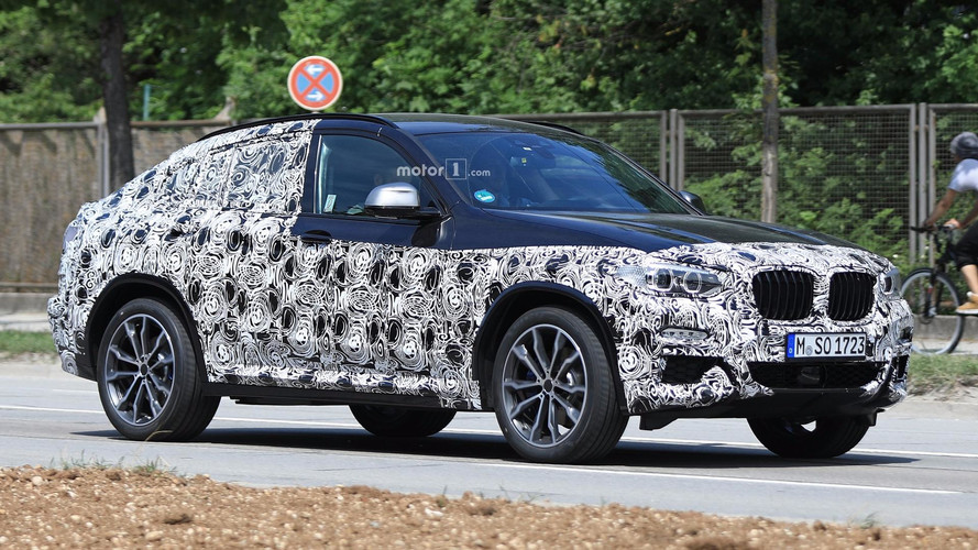 New BMW X4 Spied Quite Possibly In M40i Flavour