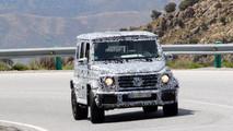 2019 Mercedes-AMG G63 spy photo