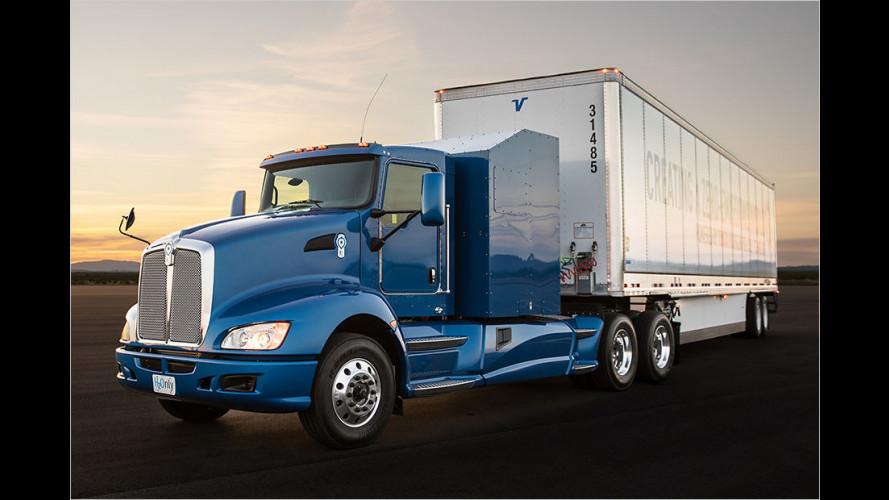 Toyota will Laster mit Wasserstoff antreiben