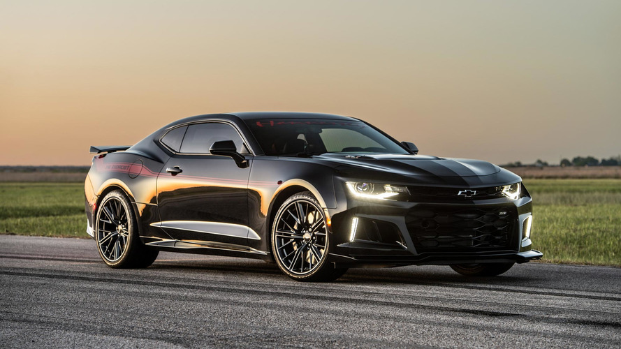 Hennessey Exorcist Chevrolet Camaro Zl1 Photo Gallery