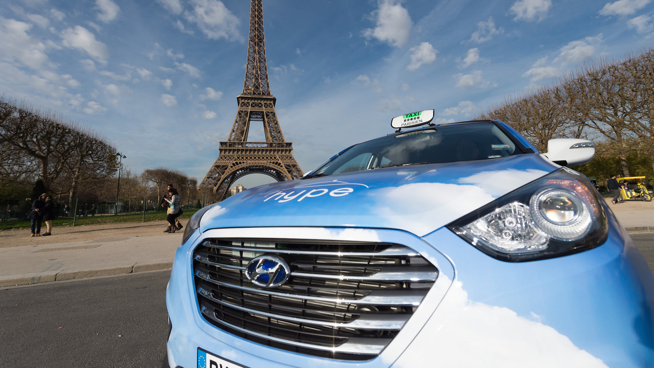 Hyundai Fuel-Cell Taxi