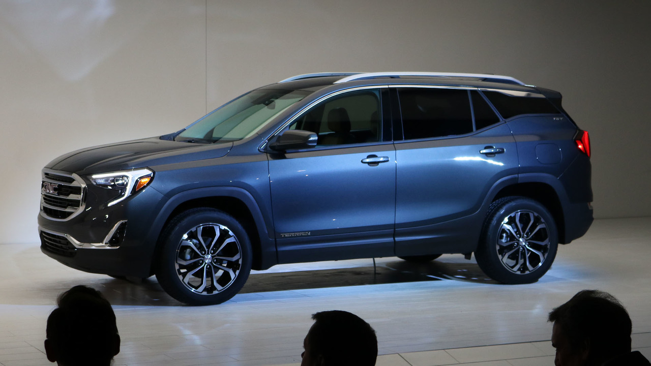 Gmc Terrain Amos >> The GMC Terrain's shifter is Worst In Show at Detroit