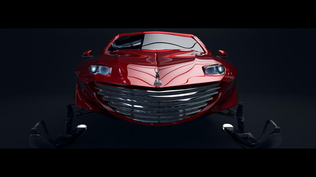 White64 Motors JNGL64 Santa autonomous sleigh
