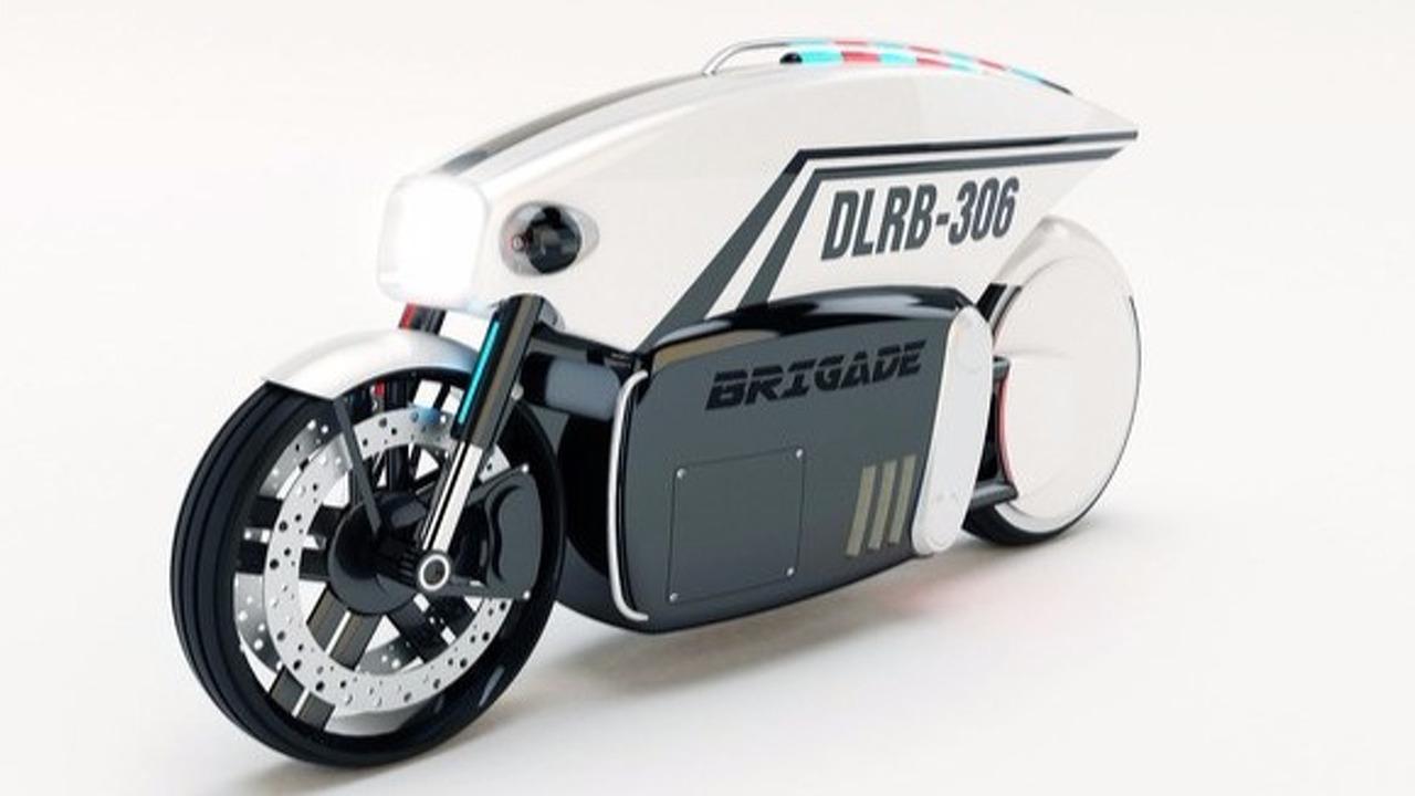 Brigade autonomous police motorcycle
