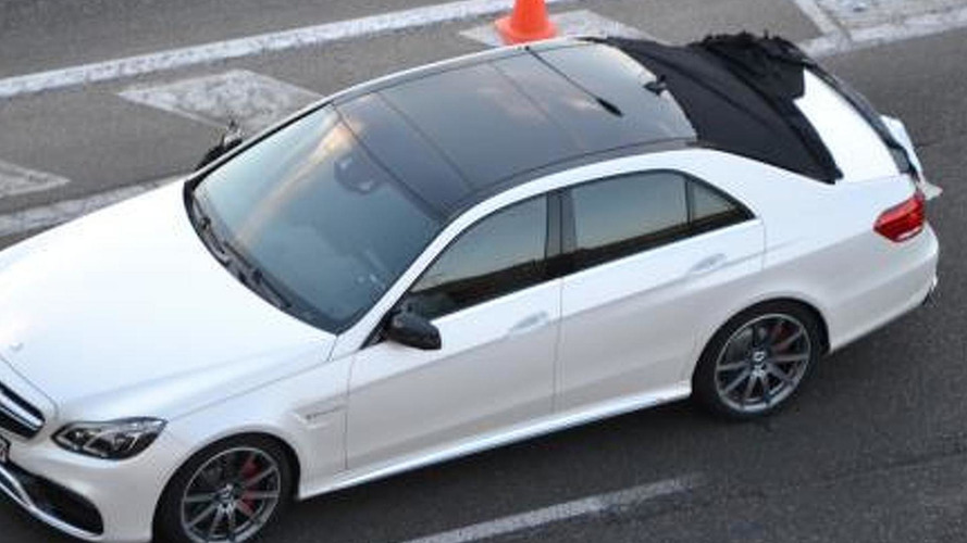 2014 Mercedes-Benz E-Class photographed undisguised