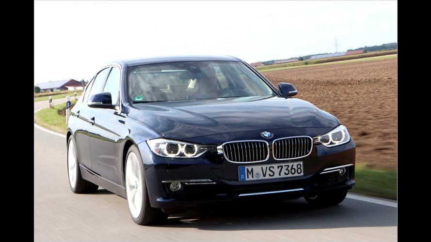 Achtgang-Luxus im BMW 320i