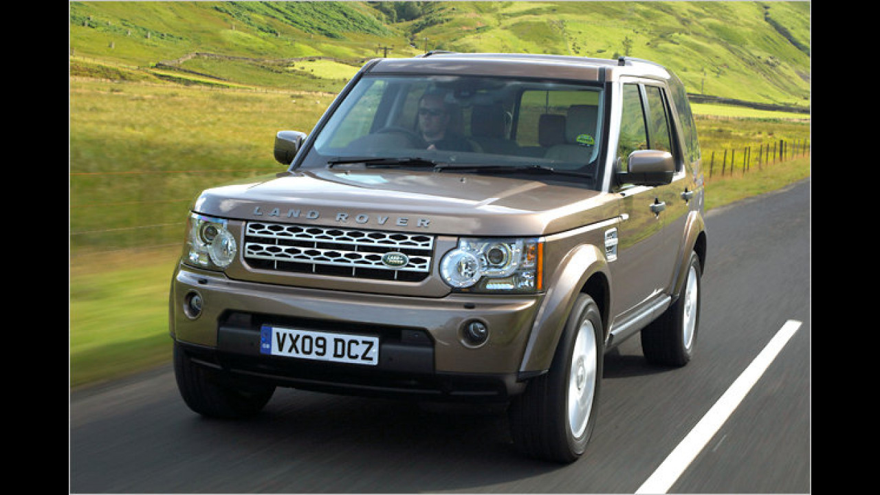 Land Rover Discovery 2.7 TDV6 S DPF