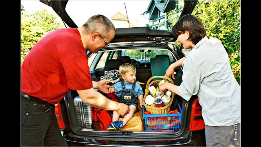 Mit Kindern im Urlaubsauto stressfrei unterwegs