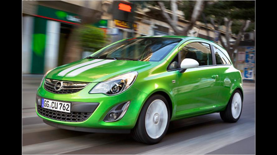 Der neue Opel Corsa: Frisches Gesicht, weniger Verbrauch