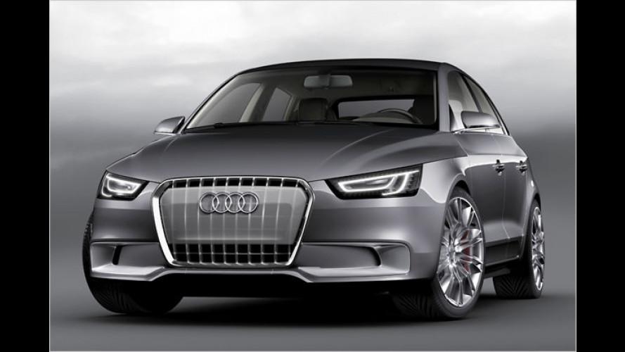 Audi A1 Sportback Concept: Fünftüriger Hybrid-Kleinwagen