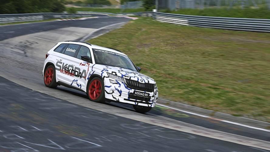 Le Škoda Kodiaq RS décroche un record sur le Nürburgring