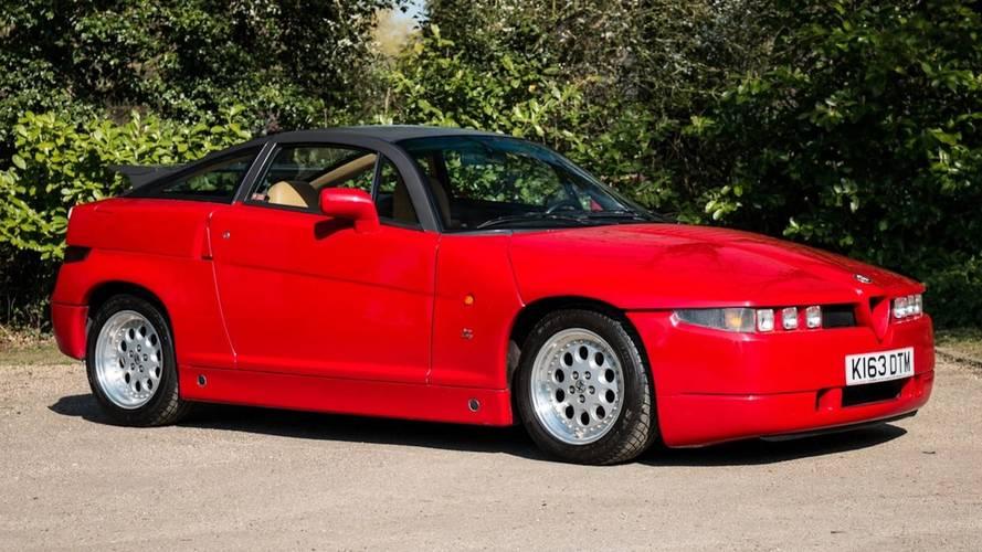 Alfa Romeo SZ, il