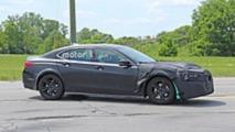 Acura TLX-Based Test Mule Spy Photos