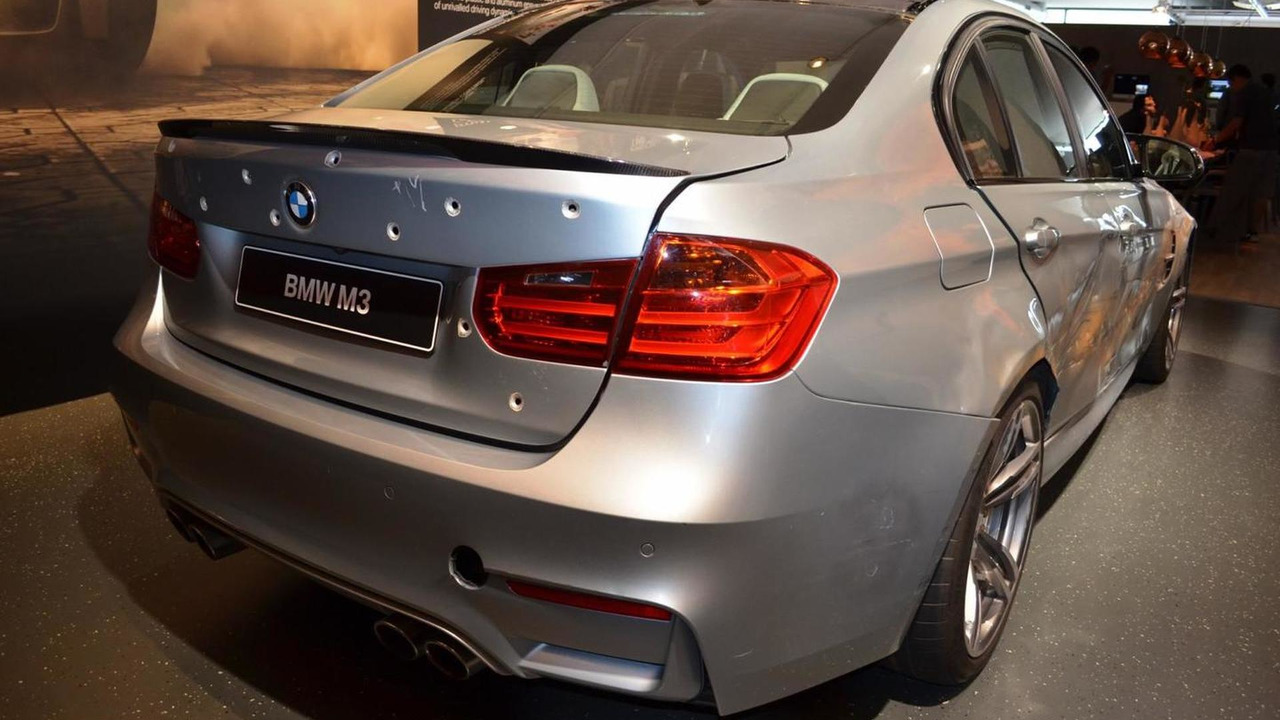 BMW M3 from Mission Impossible Rogue Nation