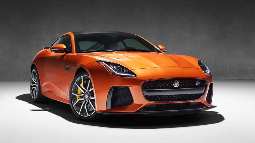 Jaguar F-Type SVR officially announced with 200 mph top speed [video]
