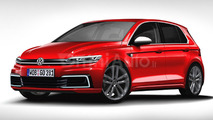 2017 VW Golf rendering previews what to expect
