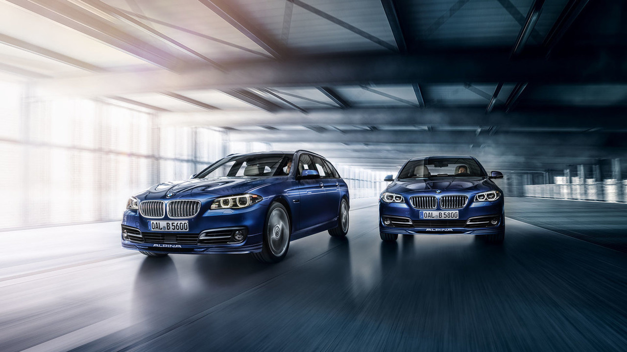 2016 Alpina B5 Bi-Turbo Sedan and Touring