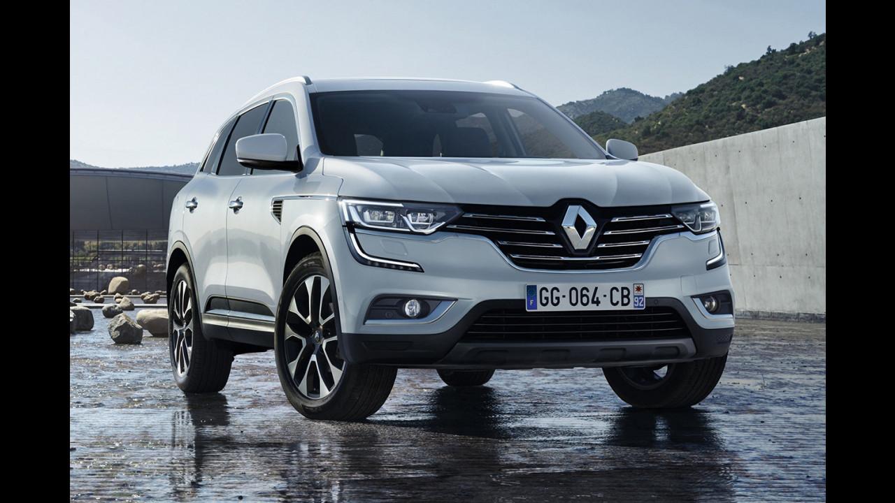 Nuovo Renault Koleos, le prime foto