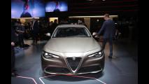 Alfa Romeo Giulia al Salone di Ginevra 2016