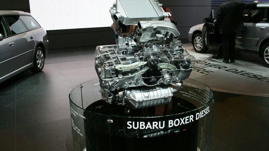 Subaru Boxer Diesel revealed in Geneva
