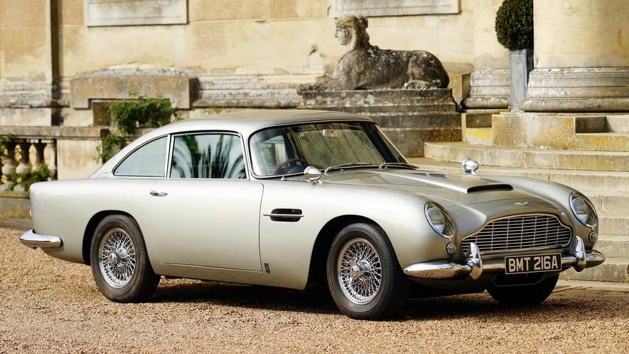 How the Aston Martin DB5 became the most famous car in the world