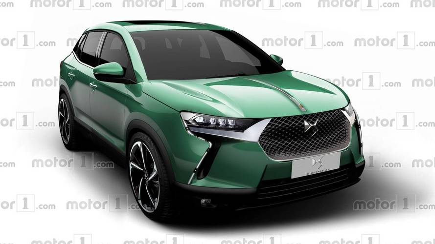 ds3 crossback rendered to take on the audi q2. Black Bedroom Furniture Sets. Home Design Ideas