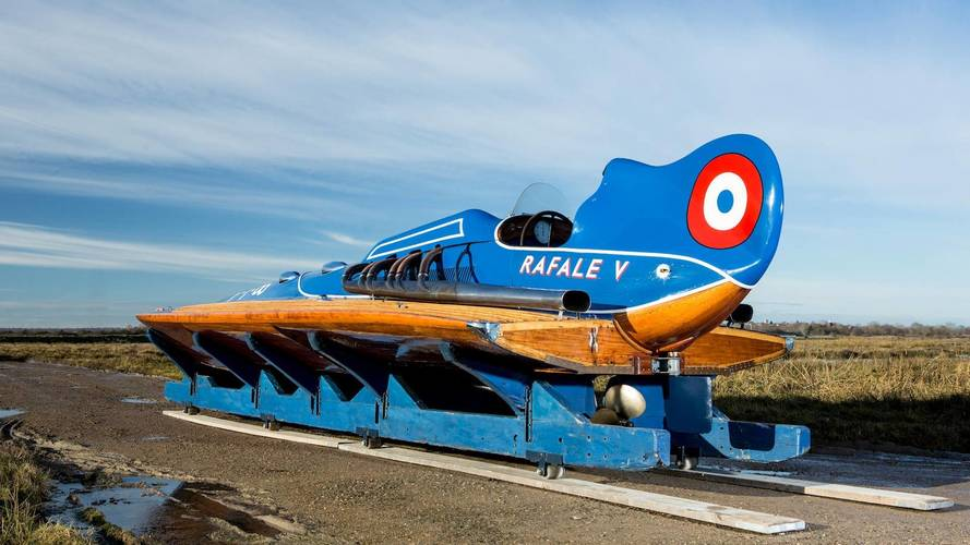 Record-Breaking Hispano-Suiza Hydroplane To Be Auctioned