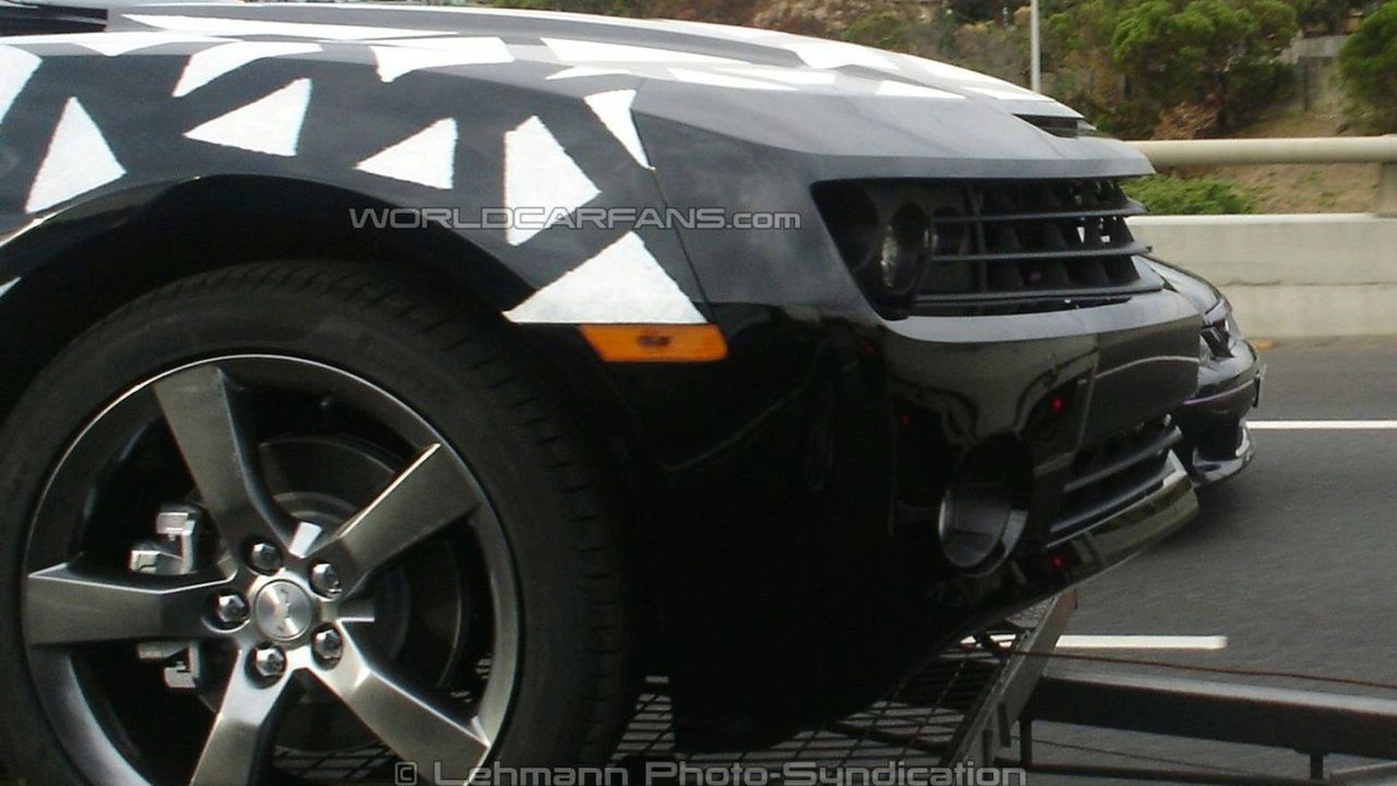 2010 Chevy Camaro spied in Oz
