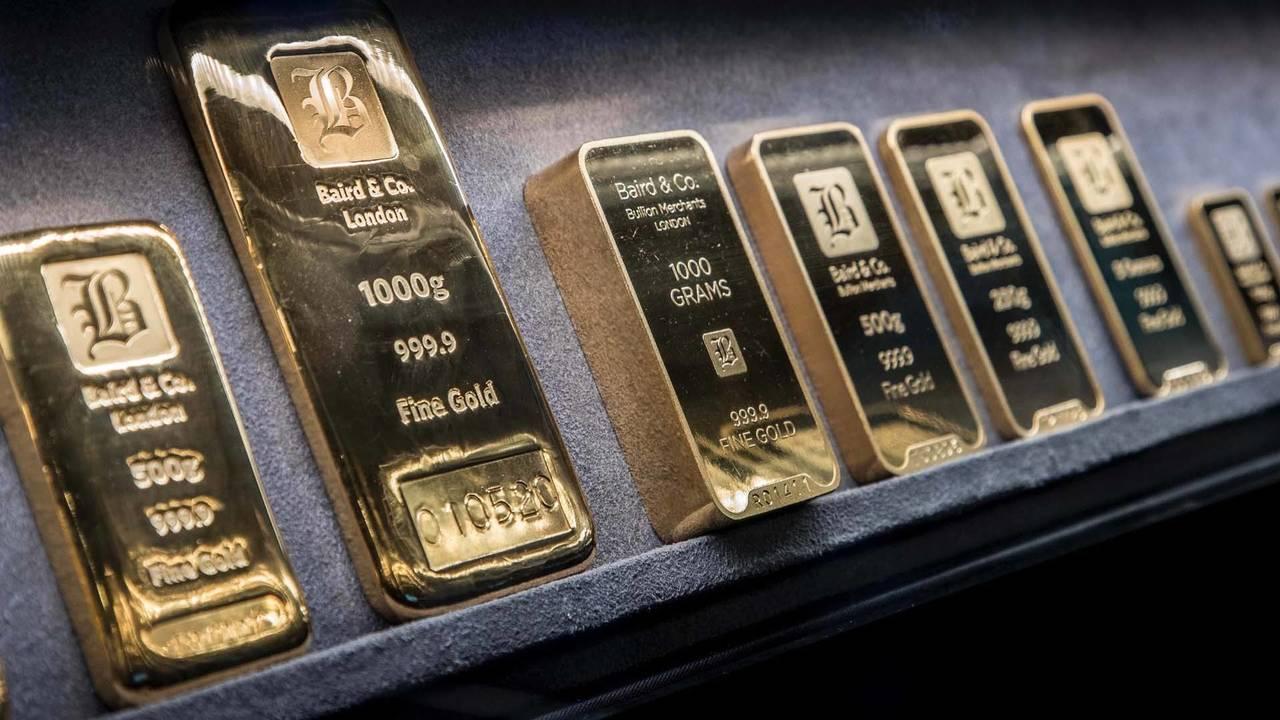 Porsche Panamera transporte de oro