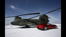 Ferrari FF sulle Dolomiti