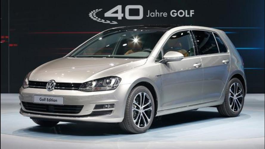 Volkswagen Golf Edition, vai col lusso