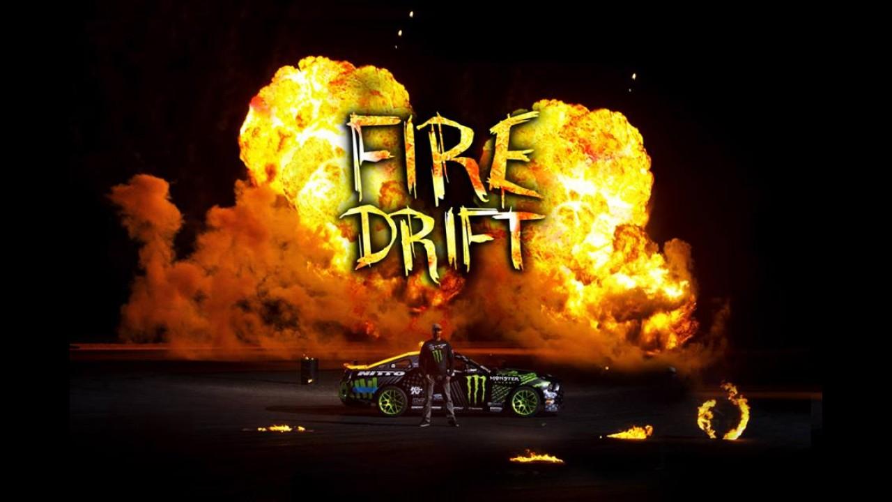 Vídeo: Ford Mustang + gasolina = drift de fogo