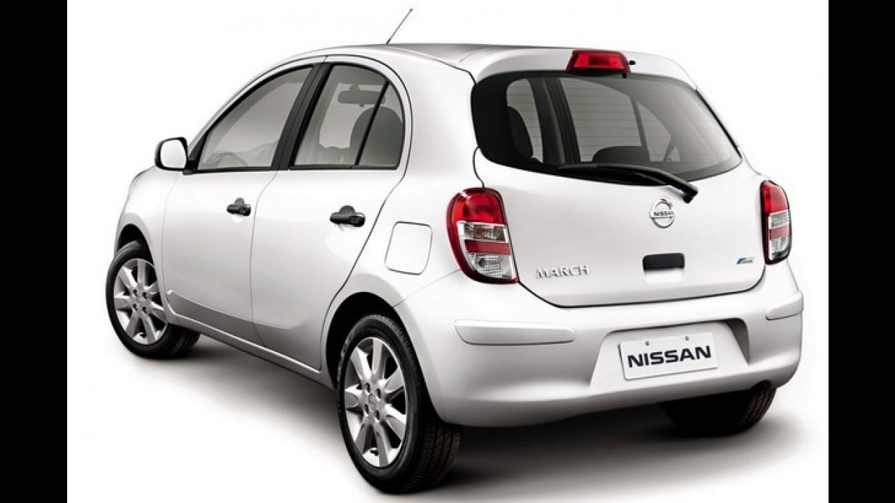 Nissan March fica mais barato e parte de R$ 26.290