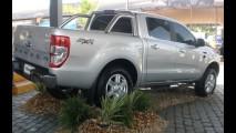 Nova Ford Ranger já é mostrada ao público no Brasil