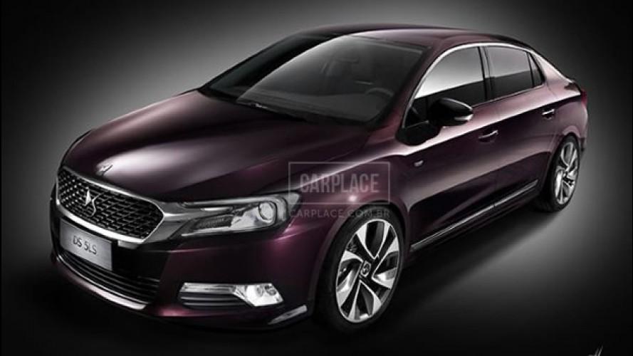Em primeira mão: fotos oficiais do novo Citroën DS 5LS