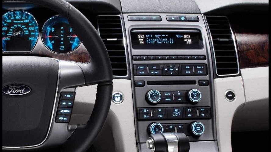 Ford comemora 10 milhões de veículos equipados com sistema multimídia SYNC