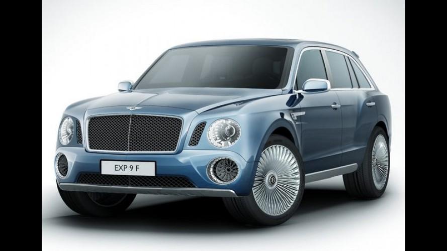 Bentley pode participar do Rally Dakar com versão preparada do VW Touareg