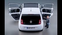Volkswagen Up! 4 portas é revelado - Vidros traseiros são basculantes