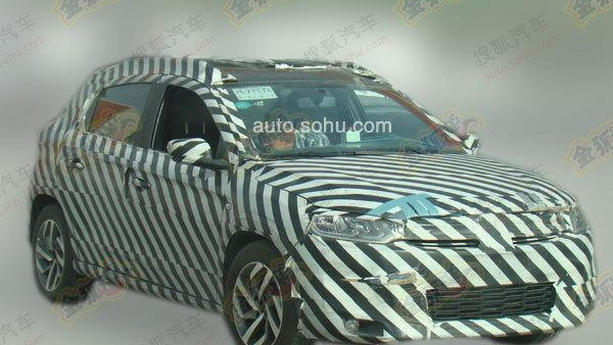 Citroen C-XR production version spied for the first time