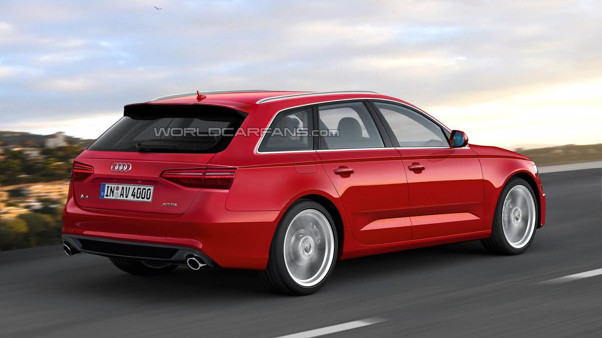 Новый универсал Audi A4, неофициально от Motor1.com