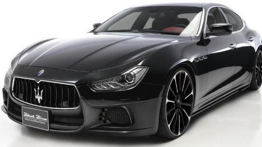Wald teases Black Bison aero kit for Maserati Ghibli