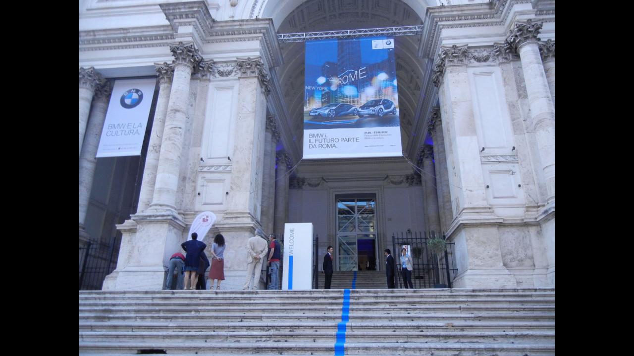 Il mondo elettrico di bmw in mostra al palazzo delle for Mostra palazzo delle esposizioni