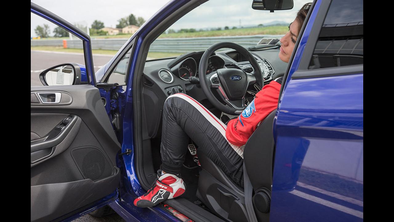Game4Test by OmniAuto.it con Ford Fiesta ST e Vicky Piria