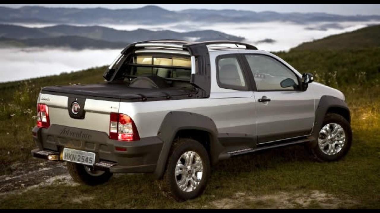 Fiat Lan U00e7a Strada Adventure Cabine Dupla Com Pre U00e7o Inicial