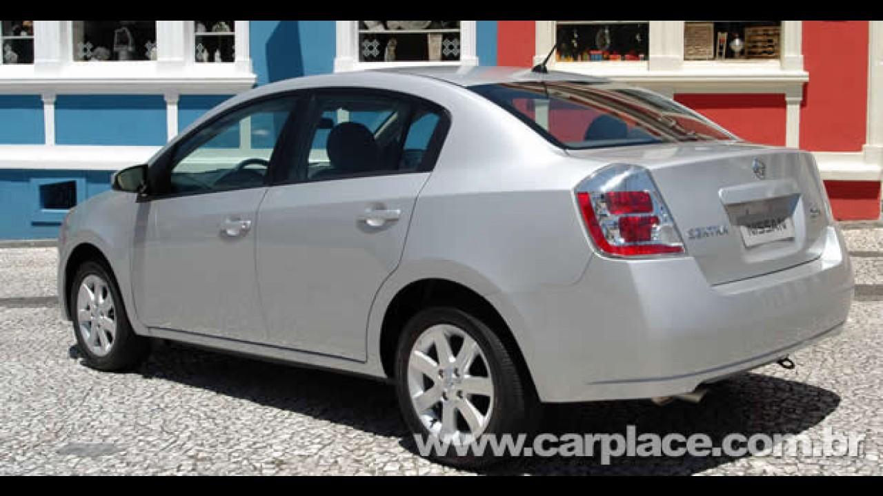 Nissan Sentra com motor flex já está nas lojas por R$ 55.300 - Será que agora deslancha?