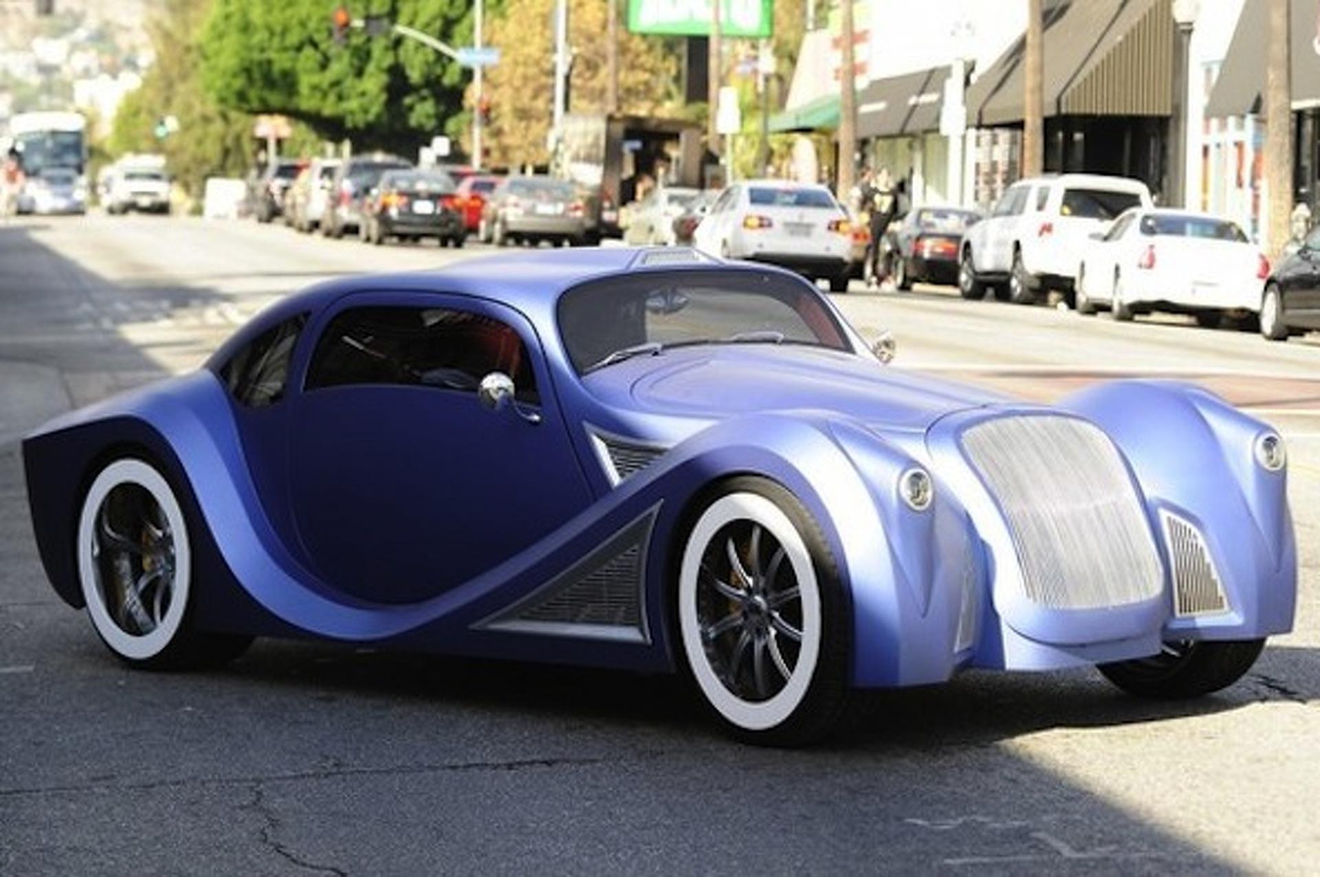 Will.I.Am Hits Hollywood in his Insane $900,000 Custom Car